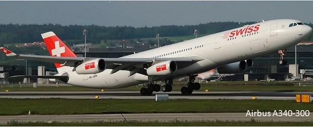 Pesawat Terbang Penumpang sipil Airbus A340-300