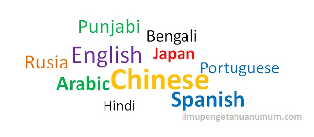 10 bahasa yang paling banyak digunakan di dunia rh ilmupengetahuanumum com