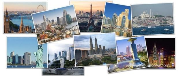 10 Kota yang paling banyak dikunjungi wisatawan di dunia