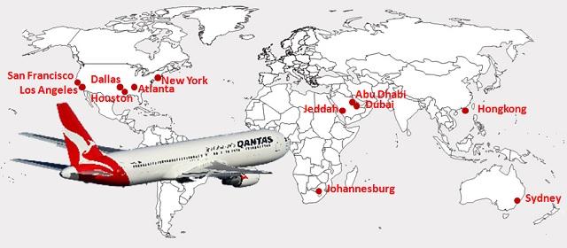 10 Penerbangan Langsung Terlama di Dunia