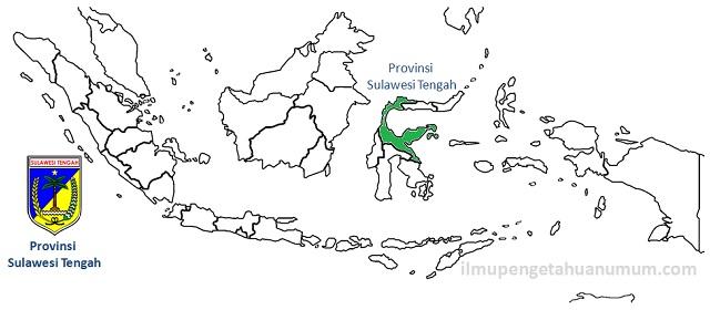 Daftar Kabupaten dan Kota di Provinsi Sulawesi Tengah