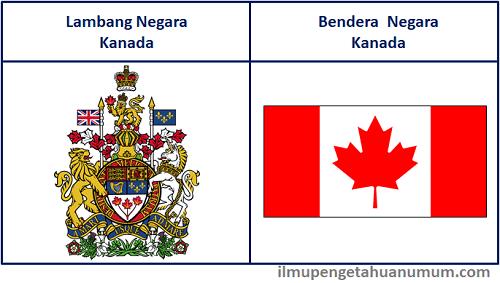 Lambang Negara Kanada dan Bendera Kanada