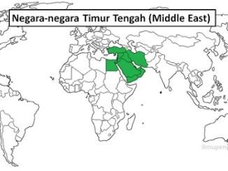 Daftar Negara-negara Timur Tengah