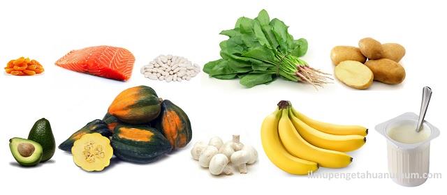 10 Makanan yang mengandung Kalium Tertinggi