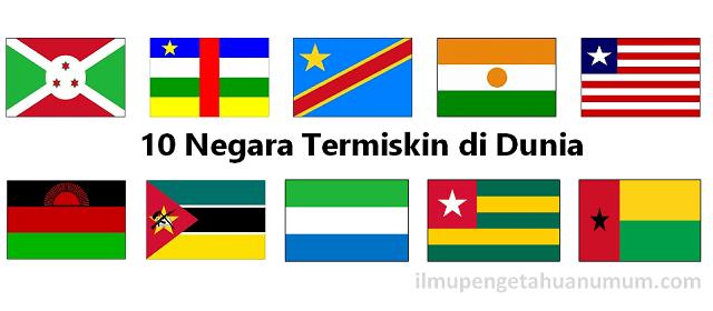 10 Negara Termiskin di Dunia