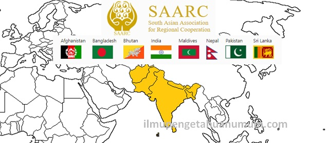 Negara anggota SAARC (South Asian Association for Regional Cooperation / Asosiasi Kerjasama Regional Asia Selatan)