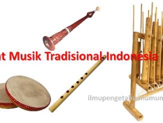 Alat Musik Tradisional Indonesia beserta daerah asalnya