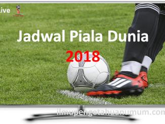 Jadwal Piala Dunia 2018 beserta Jam Tayang Siaran Langsung TV