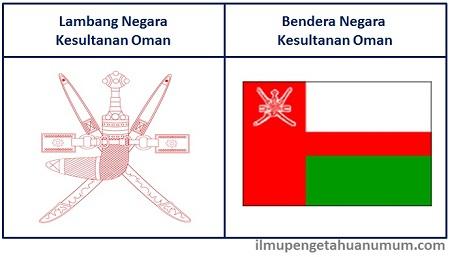 Lambang dan Bendera Oman