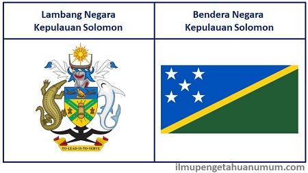 Lambang dan Bendera Kepulauan Solomon