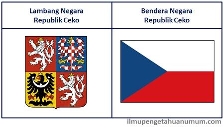 Lambang Negara dan Bendera Republik Ceko