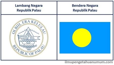 Lambang dan Bendera Republik Palau