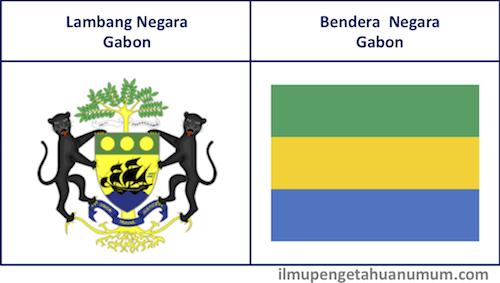 Lambang Negara Gabon dan Bendera Gabon