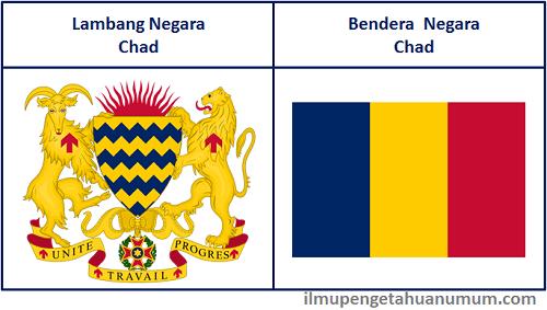 Lambang Negara Chad dan Bendera Chad