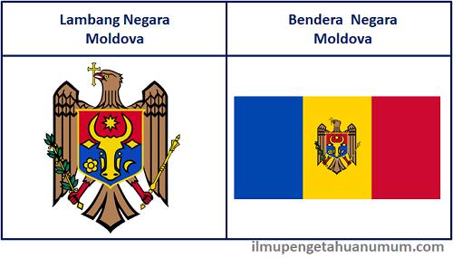 Lambang Negara Moldova dan Bendera Moldova