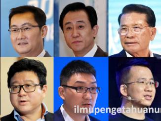 10 Orang Terkaya di China 2020