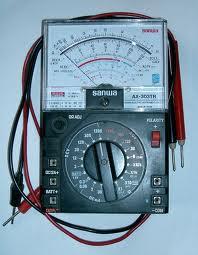 Cara Menggunakan Multimeter Analog : menggunakan, multimeter, analog, Menggunakan, Multimeter, Analog, Digital, Ilmushoru