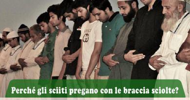 Perché gli sciiti pregano con le braccia sciolte?