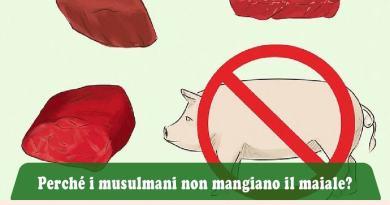 Perché i musulmani non mangiano il maiale, perché i musulmani non mangiano carne di maiale, perché i musulmani non mangiane carne suina, perché i musulmani non consumano carne suina