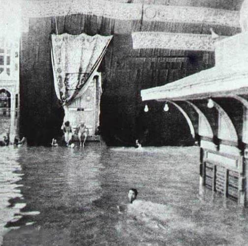 Cos'è la Kaaba, perché i musulmani pregano rivolti verso la mecca, alluvione alla mecca/kaaba