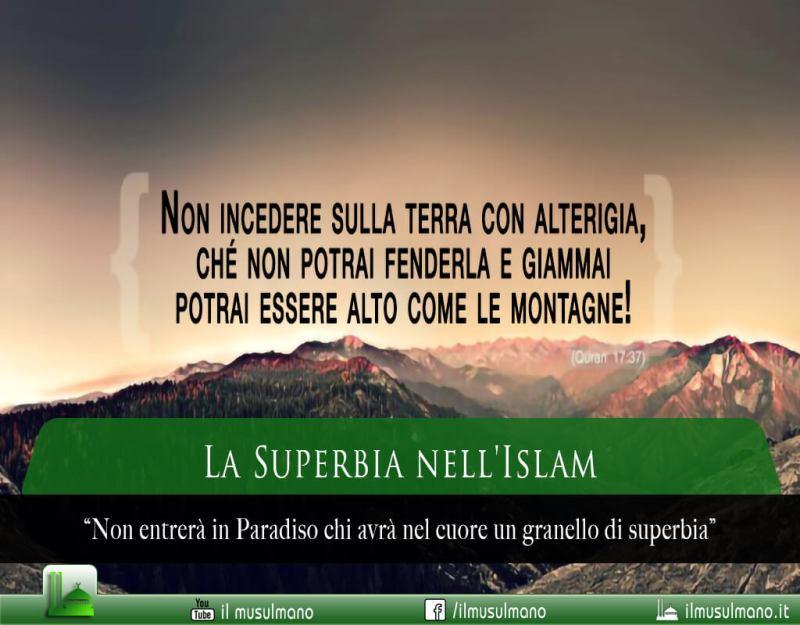 superbia nell'Islam, orgoglio nell'Islam, arroganza nell'Islam