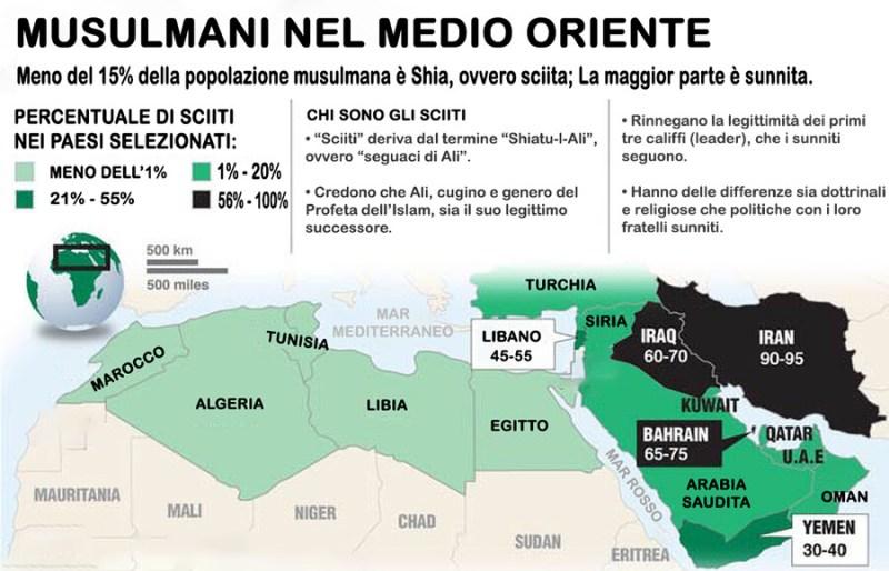 Mappa distribuzione sunniti e sciiti, sciiti e sunniti mappa paesi, sciiti e sunniti mappa, Quali sono le differenze tra sunniti e sciiti, differenze tra musulmani sunniti e sciiti, sunnismo e sciismo