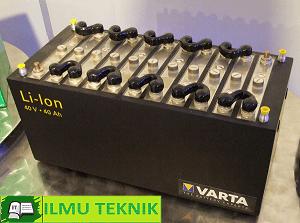Baterai ion Litium - ilmuteknik.id