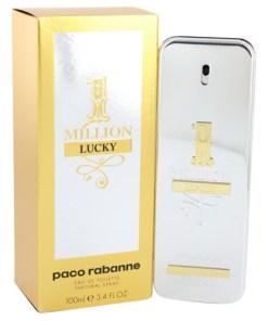1 Million Lucky by Paco Rabanne - Eau De Toilette Spray 100 ml f. herra