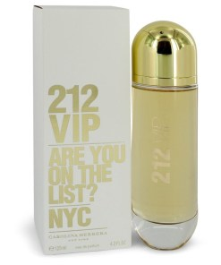 212 Vip by Carolina Herrera - Eau De Parfum Spray 125 ml  f. dömur