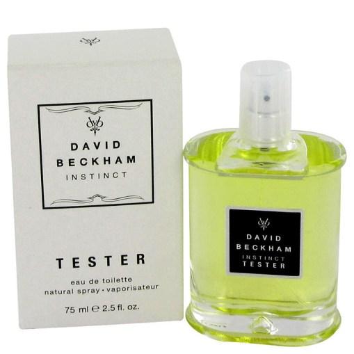 David Beckham Instinct by David Beckham - Eau De Toilette Spray (Tester) 75 ml f. herra