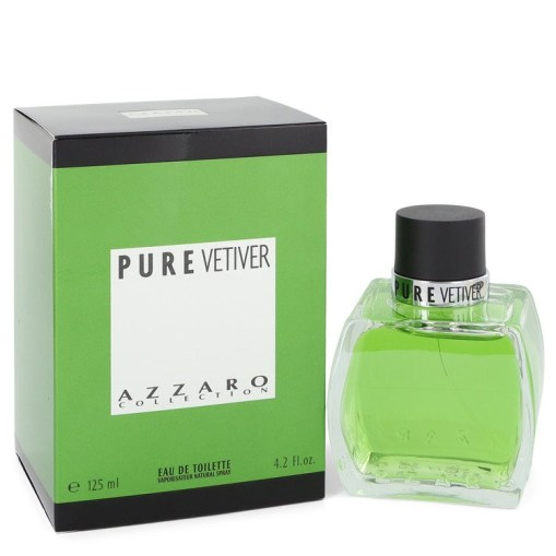 AZZARO PURE VETIVER by Azzaro - Eau De Toilette Spray 125 ml f. herra