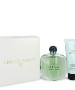 Acqua Di Gioia by Giorgio Armani - Gjafasett - 3.4 oz Eau De Parfum Spray + 2.5 oz Body Lotion f. dömur