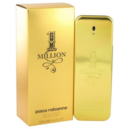 1 Million by Paco Rabanne - Eau De Toilette Spray 100 ml f. herra