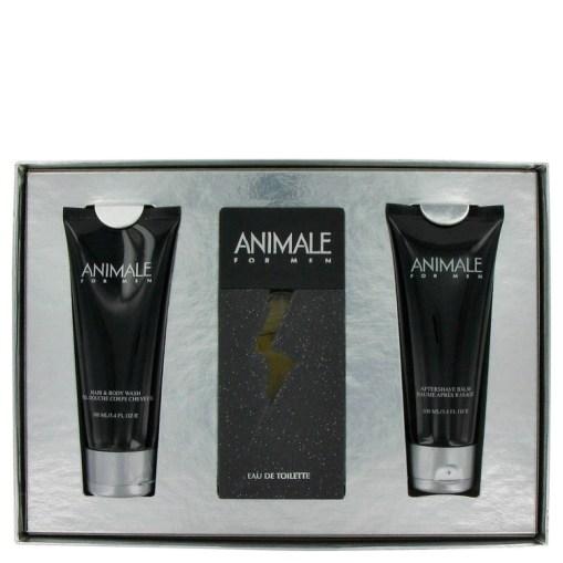 ANIMALE by Animale - Gjafasett - 3.3 oz Eau De Toilette Spray + 3.4 oz After Shave Balm + 3.4 oz Body Wash f. herra