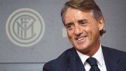 COMO, ITALY - NOVEMBER 15: New coach of FC Internazionale Milano Roberto Mancini speaks to the media during a press conference at the club's training ground on November 15, 2014 in Appiano Gentile Como, Italy. (Photo by Marco Luzzani/Getty Images)