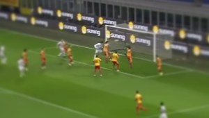 Il gol di Ranocchia