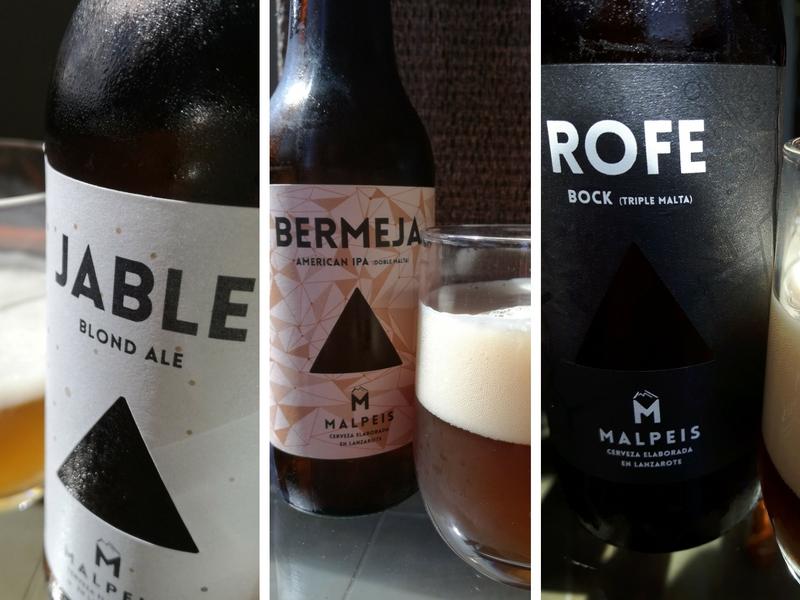 Le tre birre Malpeis