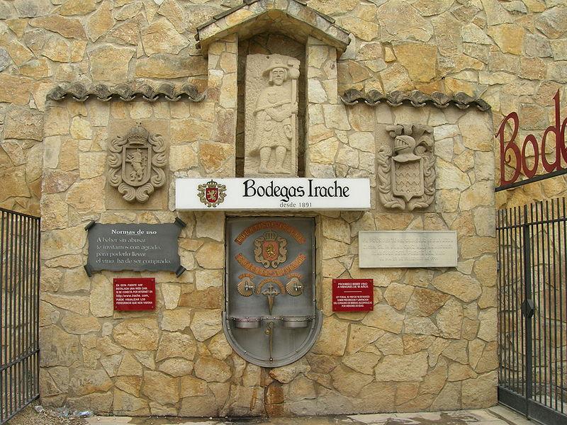 fontane vino: estella