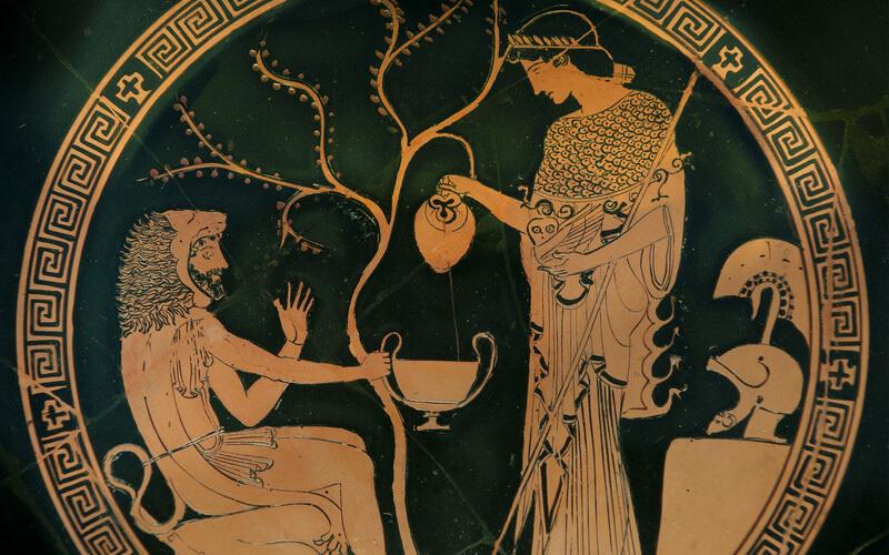 vino in grecia - dioniso
