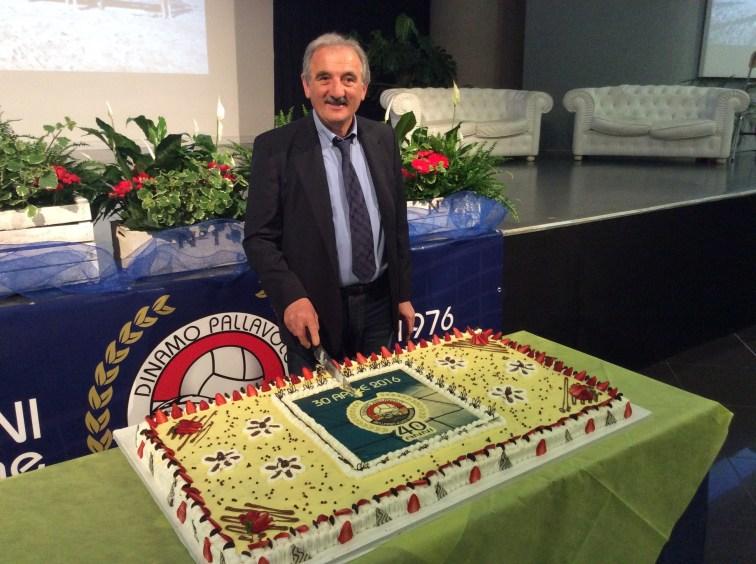 Riccardo Pozzi, presidente di Dinamo pallavolo