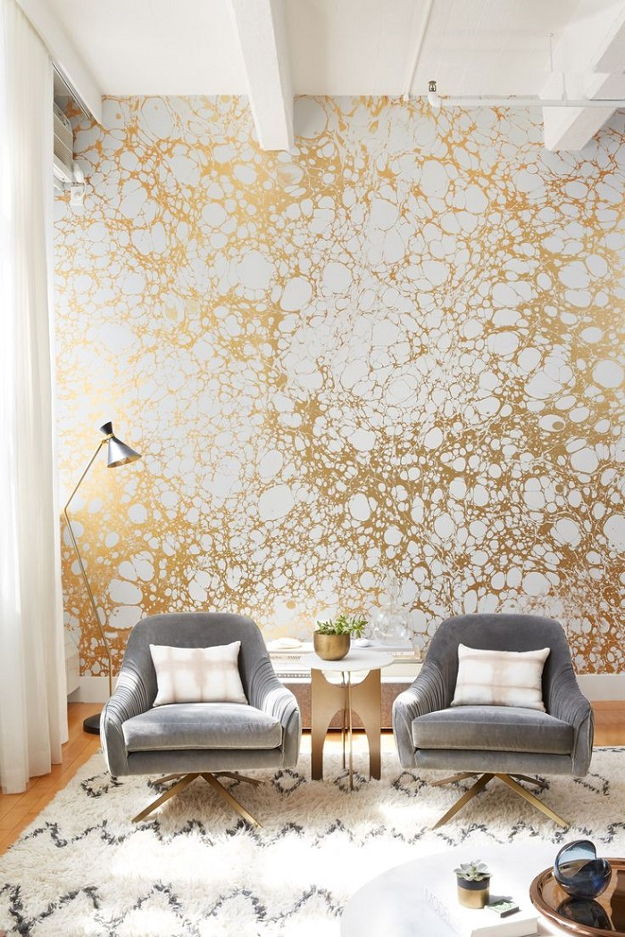 10 Modern Art Deco Wallpaper Ideas