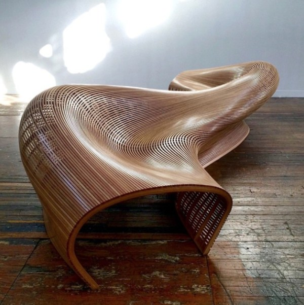 Curved Wood Furniture