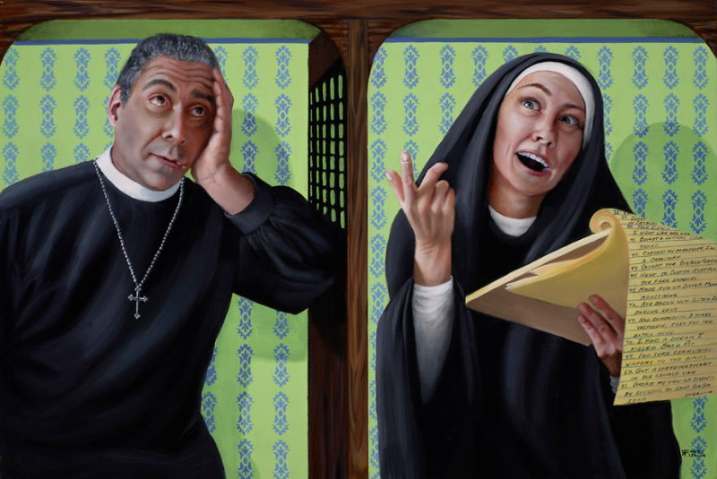 modern art Modern Art: Naughty Nuns By Christina Ramos Naughty Nuns By Christina Ramos 5