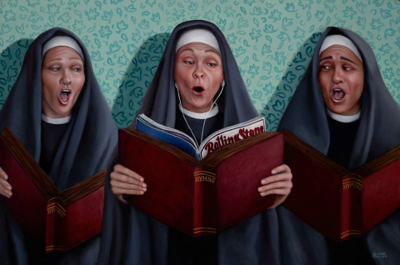 modern art Modern Art: Naughty Nuns By Christina Ramos Naughty Nuns By Christina Ramos 7