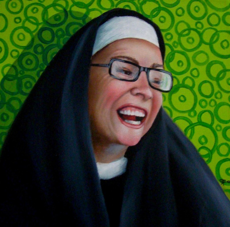 modern art Modern Art: Naughty Nuns By Christina Ramos Naughty Nuns By Christina Ramos 8