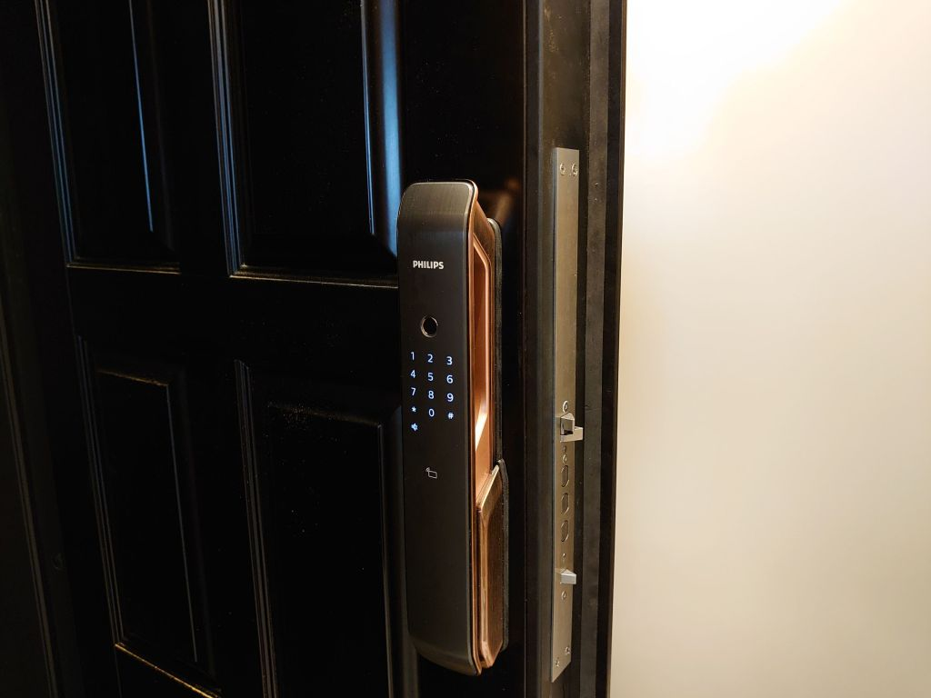 台中電子鎖安裝推薦 飛利浦9200 philips 9200 5