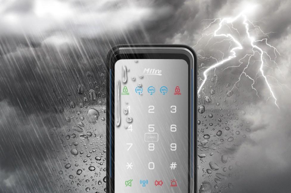 美樂電子鎖防水 mi-510f 台中電子鎖安裝3