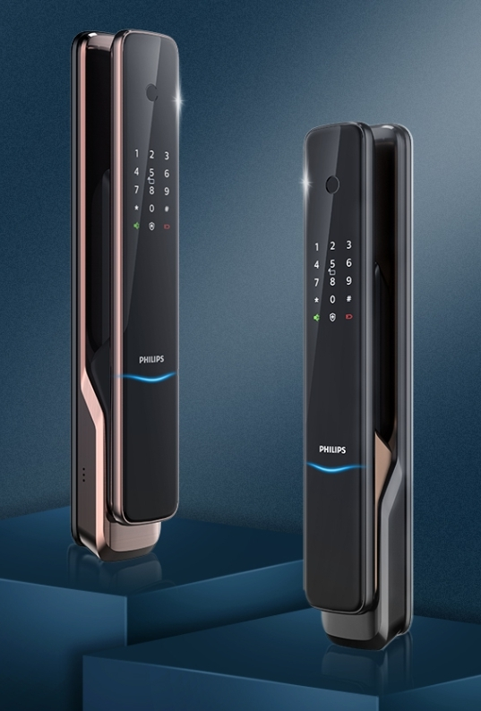 飛利浦電子鎖 9300 philips 9300 台中電子鎖安裝