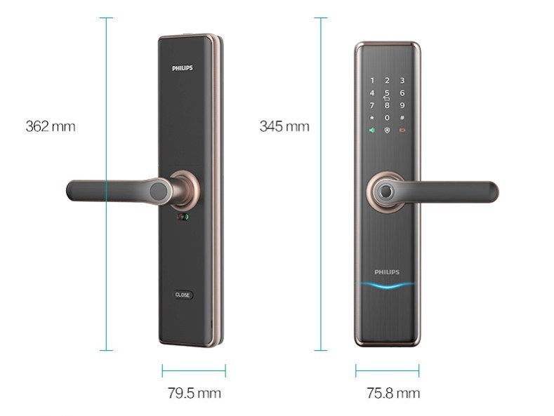 飛利浦電子鎖7300 philips 7300 台中電子鎖安裝推薦14