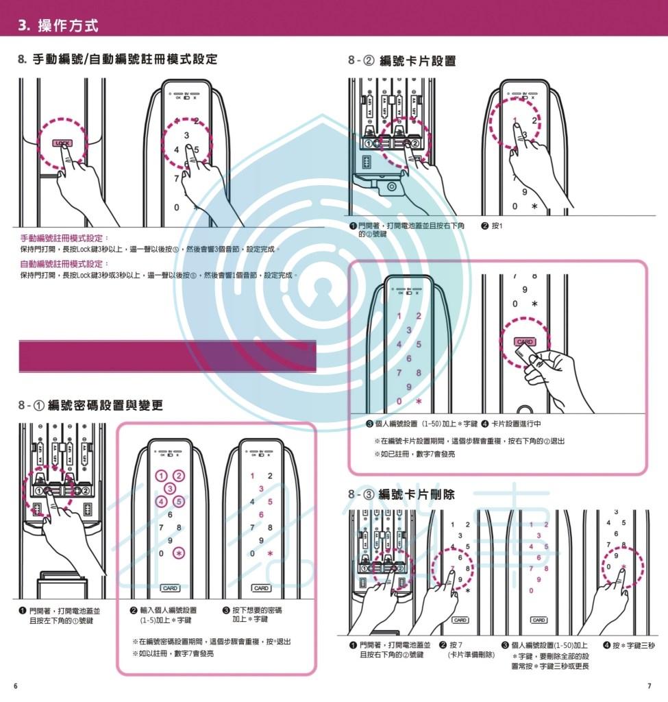 愛的迫降電子鎖 IDL 300中文說明書4